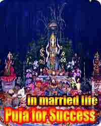 Puja for success in married life