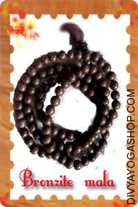 Bronzite  mala This Bronzite  Mala charged by Dhanvantari mantra. Bronzite is used for cover, because it not only repels...