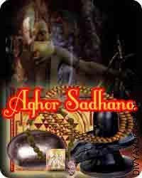Aghor sadhana samagri This Aghor Shiva Sadhana Samagri has been energised by Shiva Panchakshari mantra. It is beneficial for protection from strong spell...