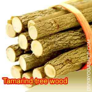 Tamarind tree wood for havan