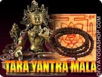 Tara yantra and rosary for wealth This Tara Yantra and rosary energized by Tara mantra. It gives you all kind of material life and wealth. Wrap this...