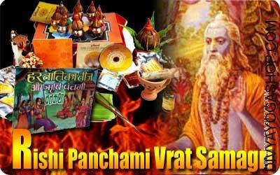 Rishi panchami vrath katha samagri Beneficial for Good Health, Wealth, Good Luck...