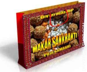 Puja samagri for makar sankranti Makar Sankranti is the day from which the northward motion of the solar begins. The interval from Karka Sankranti...