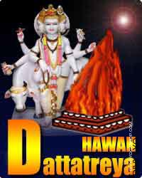 Dattatreya havan for evil protection