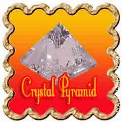 Crystal Pyramid Pyramids are great to make use of in Crystal Grids on the middle as they might help to gather and focus power...
