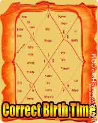 Correct Birth Time Discover your astrological right time of birth, Rectification of Kundli personally by astrologer.