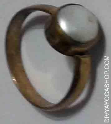 Moti ring Moti is the gemstone dominated by moon planet. Pearl is the gemstone that's used to reinforce the...