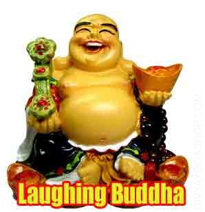 Laughing Buddha or Happy Man The Laughing Buddha is every one about blurring the cultural split between the Chinese, Japanese, Indian and now the Western..