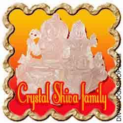 Ctystal (Sphatik) Shiva Parivar Crystal (Sphatik) Shiva Parivar is a combination of 5 statues comprising the family of Lord Shiva. It contains Lord Shiva (within the form of Shivalinga), Goddess Parvati...