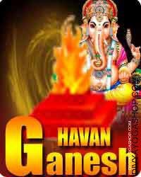 Shree Ganesha havan