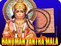 Hanuman yantra mala for protection