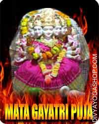 Mata Gayatri puja Gayatri Devi the Mata is taken into account the veda mata, Basically, the Mata is seen to mix all the outstanding...