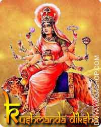 Kushmanda diksha Mata Kushmanda has eight fingers and due to that She is often known as Ashtabhuja Devi. It's believed...