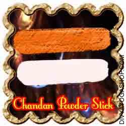 Chandan Stick (Gandhgoli) This Chandan Stick is charged by Shree Ganesha mantra. it is made from chandan powder...