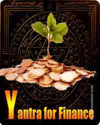 Yantra for finance