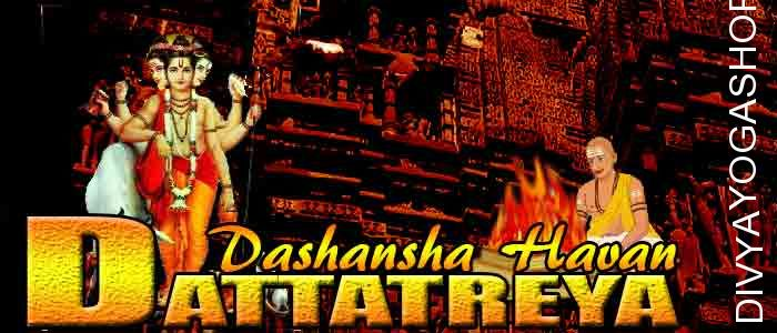 Dattatray dashansha havan If person is performing Dattatray sadhana and unable to do havan after sadhana. The Divyayogashop provides...