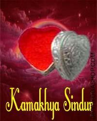 Kamakhya Sindur This Siddha Kamakhya Sindur charged by Kali mantra which is beneficial for security, good luck, enemy-Tantra protection. Kamakhya Sindur (Specifically Formulated Vermillion) can also be called Kamakhya Sindur....