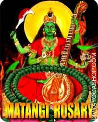 Matangi rosary Matangi is usually related to air pollution, particularly left-over or partly consumed meals thought of contaminated...
