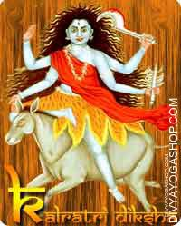 Kalratri diksha Maa Kala Ratri is the seventh type in the middle of the Navadurga or the 9 types of the Hindu mata Parvati...