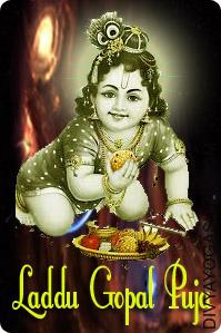 Invoke the blessings of Ladoo Gopal