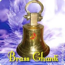 Brass Ghanti for Puja This Brass Ghanti charged by Shree Ganesha mantra. It remove negative forces from the realm...