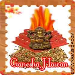 Ganesha hawan samagri This Ganesha Havan Samidha is charged by Ganesha mantra. Every Tuesday or Chaturthi you can also provide Ahuti 108 time by this Ganesha havan Samagri for  success in task prosperity, health ,wealth and peace...