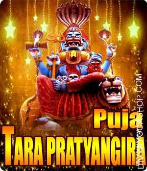 Tara Prathyangira puja for destroy enemies