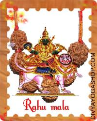 Rahu mala This Rahu mala charged by Rahu mantra. Rahu mala is usually thought-about to be an inauspicious planet. The presiding deity of Rahu is 'Kaal'...