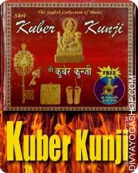 Kuber Kunji This Kuber Kunji has been charged by Lord Kuber mantra, Lord Kuber is the Lord of all the Treasures on earth and even rules over the riches buried and unclaimed inside the earth...