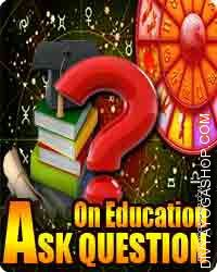 Ask Question on Education