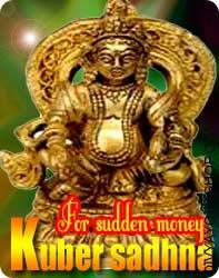 Kuber sadhna for sudden money