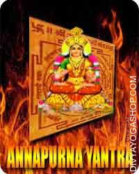 Annapurna yantra Mata Annapurna is the Hindu Goddess of meals and diet and is taken into account because the sustainer of...