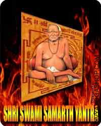 Shri Swami Samarth yantra Shri Swami Samarth traveled everywhere in the nation and ultimately set his house at Akkalkot village in...
