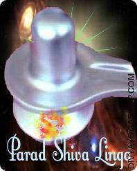 Parad Shivlinga This Parad Shivalinga charged by Rudra mantra. This Parad Shivalinga is made of mercury and silver and could be very strong and heavy...