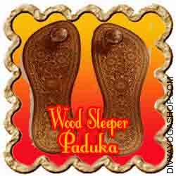 Wooden slippers/Khadau This Wooden slippers/Khadau is charged by Navgrah mantra. Khadau is a kind of wooden slipper within the form of a flat wooden base with a toe hold sticking out...