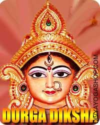 "Durga diksha The phrase ""Durga"" in Sanskrit means a fortification, or a spot which is troublesome to swarming. One other that means of ""Durga"" .."