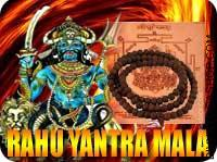 Rahu yantra mala for better decisions
