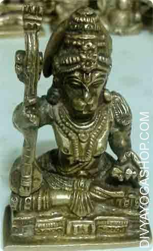 Hanuman with music instrument