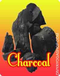 Charcoal This Charcoal is charged by Ganesha mantra. It used in Puja, havan...