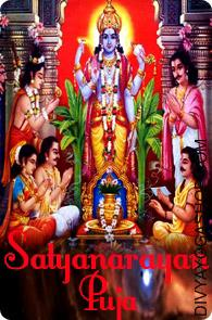 Satyanarayan Puja Satyanarayan Pooja is regarded to bring wealth and calm in all types of life. Worship of Shri Satya Narayan is dedicated to Narayana form of Lord Vishnu. Following issues are required for Satyanarayan Pooja...