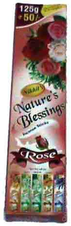 Rose natural blessing agarabatti