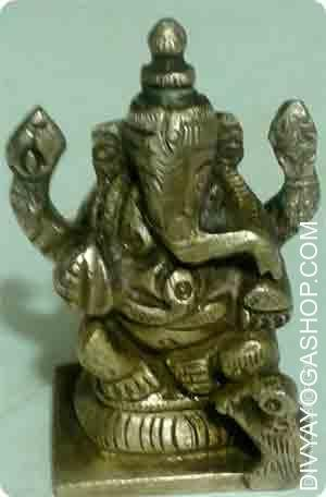Ganesha idol-95 gram Bhagawan ganesha is a well-liked determine in Indian art. In contrast to these of some deities, representations...