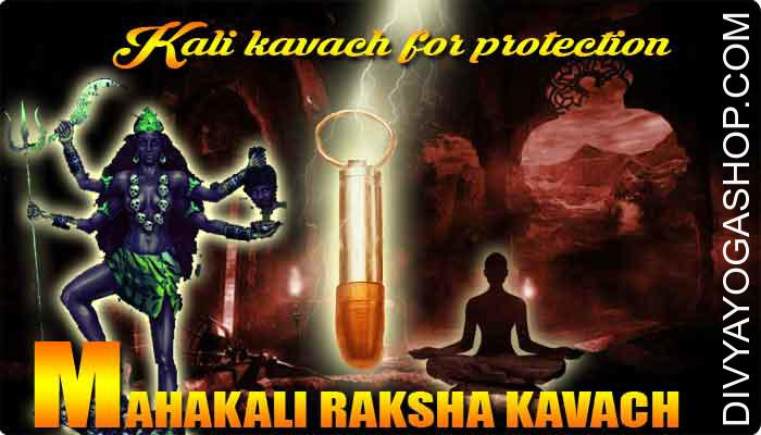 "Mahakali raksha kavach This kali raksha kavach charged by 51000 mahavidya kali mantra. Goddess Ma Kali maintains the principal position amongst all of the ten important Dus Mahavidya's. Kali means ""the black one"".."