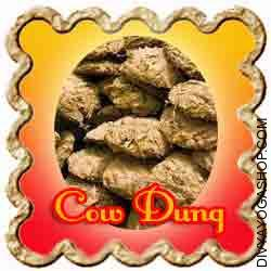 Cow Dung This Cow Dung is charged by Ganesha mantra. One of many few nectars of this earth is water, one other is milk and the third one is cow dung...