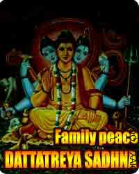 Dattatreya sadhana for family concord The Hindu faith has like its infinite deities; numerous cures in the type of mantras for numerous purposes. This is...