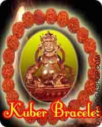 Kuber bracelet This Kuber bracelet has been energised by Kuber mantra. Kuber bracelet Beneficial for wealth and prosperity, material and success, Quick recovery of dues from others...