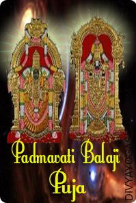 Padmavati - Balaji Puja Lord Balaji is the incarnation of Lord Vishnu and his spouse is Padmavati, an incarnation of Goddess Lakshmi. Balaji is however, seen with both Goddesses, Padmavati and her unique kind Ma Lakshmi also....