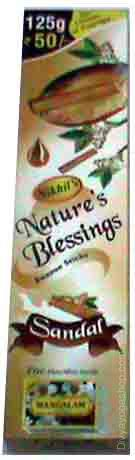 Sandal natural blessing agarbatti