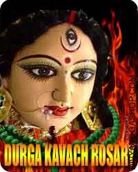 Durga kavach rosary The Shri Durga Kavach is a group of shlokas as of the Markandey Purana. It's one limb forming a part of the...