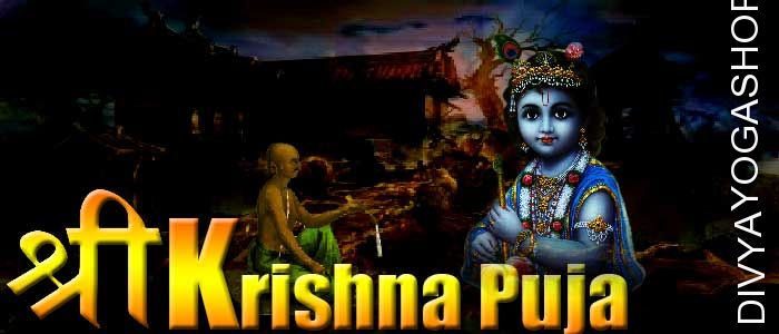 Janmashtami Puja Lord (bhagawan) Krishna is worshiped in his Gopal form, is praised by all Vedic scriptures (shastra) as one of the greatest Pooja to eliminate all evils, to achieve all desires and for over-all affluence...